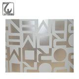 Plaque d'acier inoxydable du fournisseur 316 de la Chine pour le panneau de mur décoratif