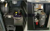 Compressore d'aria industriale di servizio del macchinario industriale della vite vite d'oltremare del compressore d'aria 75kw 8bar della doppia per industriale