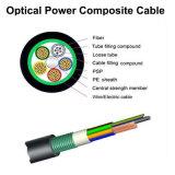 Cable compuesto de la potencia óptica