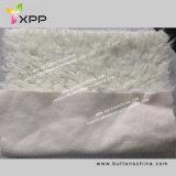 Sherpa Fleece Fabric Bonded con Faux Suede Fabric
