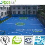 Pavimento esterno della gomma del campo da pallacanestro del buffer elastico
