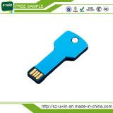 Movimentação Shaped chave da pena do USB do metal quente do Sell 2017