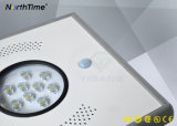 Réverbère solaire Integrated infrarouge du détecteur de mouvement DEL pour le chemin