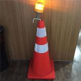 Indicatori luminosi d'avvertimento della carreggiata di sicurezza LED dei coni ricaricabili di traffico