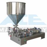 машина завалки косметики/еды 10-300ml полуавтоматная пневматическая жидкостная /Paste, машина завалки эфирного масла