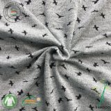 95%бамбук5%спандекс джерси вязания высокого качества печати ткани (QF16-2522-P1-серый)