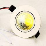 LEDによって引込められる天井ライト、ランプ、Downlights