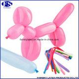 ねじれのブランデーグラスの乳液の気球の長い魔法の気球