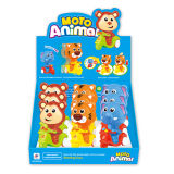 ABS Material (H3085019)를 가진 플라스틱 Cartoon Toys Animal Toy