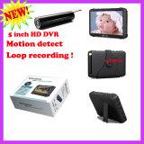 """Câmera de endoscopia de visão noturna 2.4G 6 LED com 5 """"Mini DVR Receiver"""