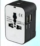 Adaptador de viagem Universal Plug Conversor com UK Us Au UE