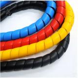 Protetor espiral plástico Wearproof da mangueira para o fio elétrico
