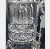Bienenwabe-Pfeife Filter-Glas bespritzt Wiederanlauf mit einem Schlauch