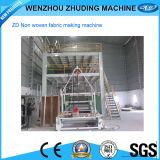 Tela no tejida de SMS PP Spunbonded que hace la máquina (SMS-2400)