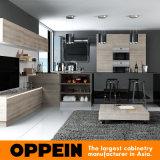 Cabinas de cocina abiertas de madera de la nueva del diseño laca moderna de la melamina (OP16-M05)