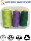 Kern-gesponnen Garen 100% het Naaien van de Polyester het Breien van de Draad 20s/3 Gebruik
