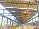 Haltbarer starker Stahlkonstruktion-beweglicher Rahmen als Lager-Werkstatt-Gebäude