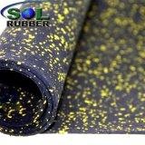Crossfit comercial SBR reciclado el rodillo de goma Alfombrilla de gimnasia