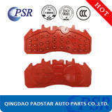 Les pièces automobiles ECE R90 des plaquettes de frein de la plaque arrière en fonte