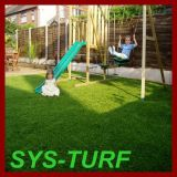 U Shape Landscaping Decoration Artificial Grass per il giardino
