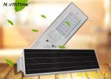 temps 25watt et réverbères solaires légers de Solarworld DEL de contrôle