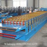 Machine de tôle d'acier de paquet de double de fabrication de la Chine de la toiture