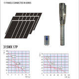 Sonnenenergie-landwirtschaftliche Bewässerung-neue Maschinen-Wasser-Pumpe