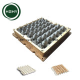 Hghy pulpa de papel aluminio Caja molde bandeja de huevos huevo