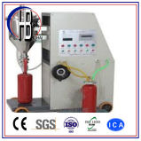 To 2017 new Design CO2 Fire Extinguisher gas Cylinder Filling Machine with bend these COUNTs