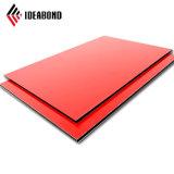 Ideabond горячая продажа 4фт*8 футов 4 мм Снаружи фасад настенные панели из алюминия