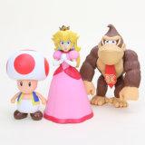 De goedkope Actie van 8~15cm Bros Bowser Koopa Yoshi Mario PVC stelt de Decoratie van het Ornament van het Speelgoed van Luigi Donkey Kong Model Dolls voor