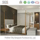 Meubles en bois de chambre à coucher d'hôtel de Mordern d'étoiles (GN-HBF-56)