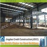 Due strati parziali del magazzino della struttura d'acciaio