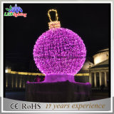 Напольный свет мотива праздника СИД света украшения шарика рождества СИД светлый