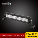 "27W 10.8"" Super brillante Barra de luces LED de fila única"