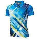 ポロシャツのカスタマイズされたロゴのポロシャツを広告するカスタム男子ゴルフスポーツ