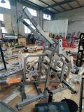 El Telecine Lateral ISO amplio gimnasio el equipo de la fuerza de martillo