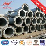 12m 500dan-1500dan Stahlpolen für Zeilen 30kv