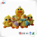 Bowtieの幸せなグループのプラシ天の黄色のアヒルのおもちゃ