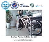 Tipo capacidade de U das bicicletas da cremalheira 2 da bicicleta do metal