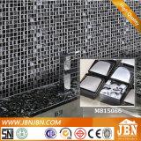 光沢のあるガラスモザイク(M815066)をめっきする現代様式のホテルの浴室