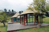 Hôtel de luxe Eco-Pagoda Glamping tente Tente