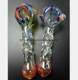 Transparentes Glaswasser-Rohr-Farben-Muster-Filter-Rauch-Rohr