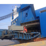 3개의 BPW 차축 트레일러를 기울이는 70 톤