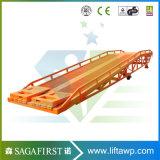 niveleur hydraulique électrique de dock de conteneur de chariot élévateur de 8ton 10ton 12ton