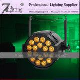 RGBWA紫外線LEDの洗浄効果の照明段階18*18W DMX LEDの同価64は6in1できる
