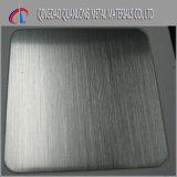 Fini miroir 201 202 Plaque en acier inoxydable