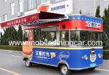 De mobiele Bus van het Voedsel voor het Verkopen van Snel Voedsel/Roomijs/Hotdog in China