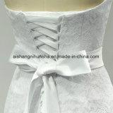 Abito elegante caro della sposa dell'abito nuziale degli abiti di cerimonia nuziale della sirena del merletto