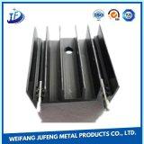 Fabricação de metal da folha da precisão que perfura carimbando o dissipador de calor/radiador de alumínio